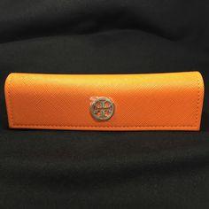 TORY BURCH Eyeglasses Sunglasses Orange Semi-Hard Case ONLY   eBay