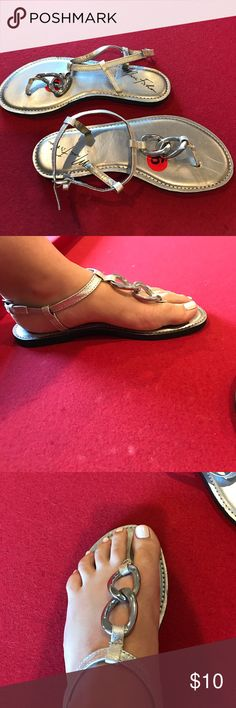 Marc Fisher sandals Very pretty sandals, by Marc Fisher! Barely ever worn! Marc Fisher Shoes Sandals