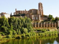 Albi Cathedral, France....after season I spent a month laying on that river beach reading or listening to music...one of my most cherished cities <3