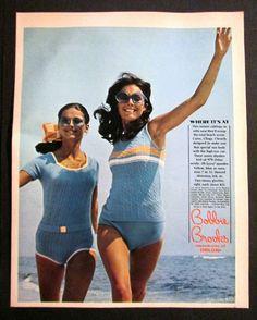 bobbie brooks | Bobbie Brooks | Vintage Swimwear / Swimsuit / Beach ...