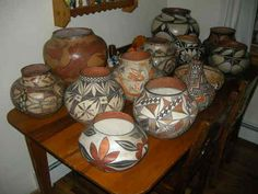 BEAUTIFUL ACOMA PUEBLO Pottery
