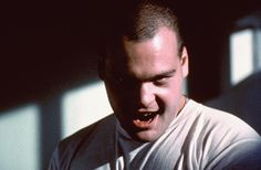 Vincent D'Onofrio in Full Metal Jacket The Kubrick stare: Man comes down to his most primitive state