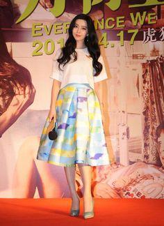 Váy áo che nhược điểm hình thể của Phạm Băng Băng - Sao - Phim - Nhạc - Alobacsi.com