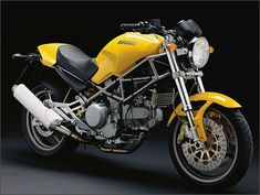 Ducati Monster - la mia prima moto