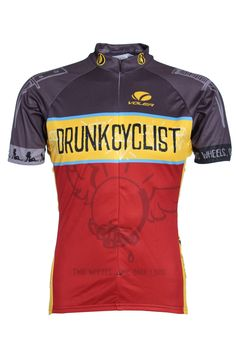 45da2c7e3 Drunk Cyclists Men s Short Sleeve Jersey. Love it! Cycling Jerseys