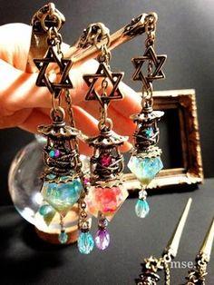 Kawaii Jewelry, Cute Jewelry, Jewelry Accessories, Jewelry Design, Resin Jewelry, Jewelry Crafts, Handmade Jewelry, Ring Armband, Magical Jewelry