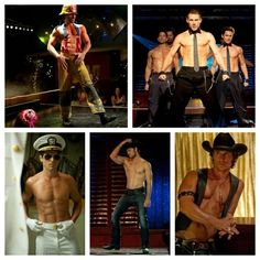 Magic Mike magic ;) this movie was great... except for the stupid storyline