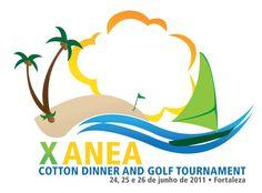 Logotipo X ANEA Cotton dinner and golf tournament