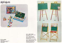 Catalogue: JEUJURA Années 60.