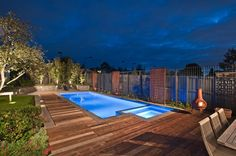 Pool Decking Design Ideas - Get Inspired by photos of Pool Decking Designs from Cantwell Pools & Tennis Courts - Australia | hipages.com.au