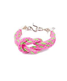 We love the new Leather Knot bracelets by @vineyardvines !  Buy your's today at www.keenelandgiftshop.com