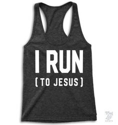 I run.... to Jesus!