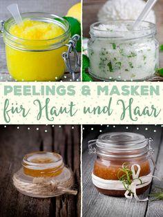 Wir zeigen euch die schönsten Peelings und Masken für Haut und Haar - zum Selbermachen und Kaufen! Frohes Entspannen!