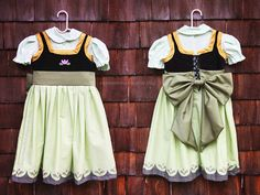 Young Anna Princess Dress  by soursweetboutique