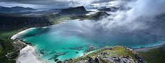 Wonderful beaches and surfing opportunities close to #HattvikaLodge #Lofoten…