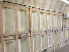 Applying spray foam insulation to the walls and ceiling of your Quonset hut, however, can turn it into a completely functional space with increased building integrity and comfort. Description from atlanticspray.com. I searched for this on bing.com/images