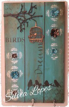 Placa decorativa Pallet Picture Frames, Mirrored Picture Frames, Crafts To Make, Arts And Crafts, Diy Crafts, Diy Wood Projects, Wood Crafts, Arte Pallet, Decoupage Vintage