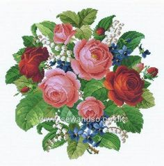 Shop online for Romantic Bouquet Chart Pack at sewandso.co.uk. Browse our great range of cross stitch and needlecraft products, in stock, with great prices and fast delivery.
