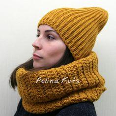 Polina Kuts: шапка бини beanie hat