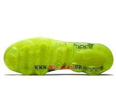 sneakers for cheap deb9c 918e0 Nike Air VaporMax Flyknit 2. 0 Chaussures 2018 Pas Cher Pour Homme Noir  vert AJ6599