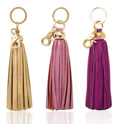 tassel-leather-keychain-russell-hazel-gold-fob-pink-purple