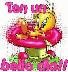 Good Morning Cartoon, Good Morning Good Night, Tweety Bird Quotes, Planting Roses, Beautiful Gif, Morning Greeting, Looney Tunes, Happy Sunday, Smiley