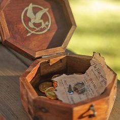 A Hunger Games treasure hunt you can create at home. It involves riddles teamwork buried treasure & even invites a bit of betrayal!