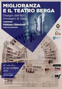 """Mostra """"Miglioranza e il Teatro Berga. Disegni dall'800, immagini di oggi"""" - Pinacoteca di Palazzo Chiericati - Musei Civici Vicenza"""