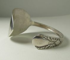 Cuff Spoon Bracelet: Have a cool-looking vintage spoon? Bend and flatten it until it turns into the perfect cuff bracelet.  Source: Etsy user thebeadedlizard