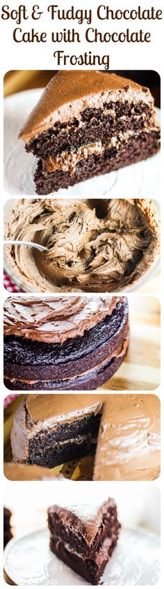 This is what you crave when you imagine the best chocolate cake ever. Ever. EVER.