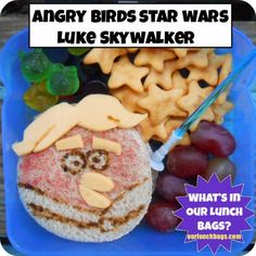 What's In Our Lunch Bags?: Angry Birds Star Wars - Luke Skywalker