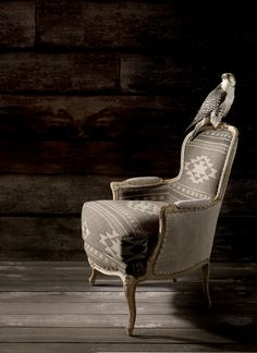 Ralph Lauren Home's Alpine Lodge fabric collection - lush textures and classic beacon patterns in a palette of cream, sand and cocoa
