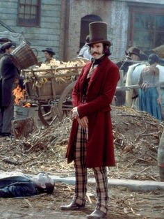 Bill the Butcher from Gangs of New York. Cool outfit from the era that steampunk is set in.