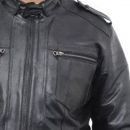 Different items like leather belts, jacket, watch box, etc are accessible with Cythos which can be purchased at the ease of staying at home, saving you a lot of time and hassle. Leather Belts, Black Leather, Leather Jackets Online, New Fashion Trends, How To Look Classy, Motorcycle Jacket, India, Fashion Outfits, Chic