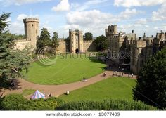 Warwick Castle, England ~ Founded in 1068 by William the Conqueror