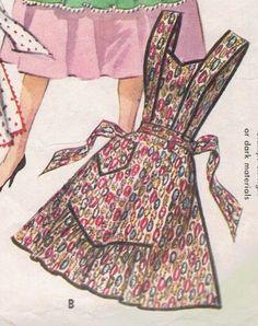 McCall 1124 apron pattern                                                                                                                                                      More