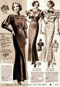 Website dedicated to vintage fashion.