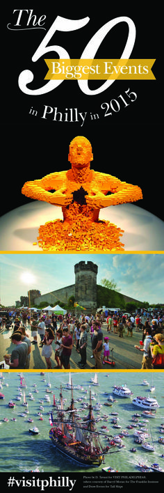 The 50 Biggest Events Coming to Philadelphia in 2015