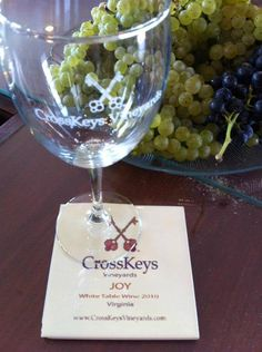 For your appreciation, an Exquisite Joy CrossKeys Vineyards Wine Glass  Coaster Set 6011 E. Timber Ridge Rd. Mount Crawford, Virginia 22841 Today 11:00 am - 7:00 pm Phone 1 (540) 234-0505 Email info@crosskeysvineyards.com Website http://www.crosskeysvineyards.com/    http://www.facebook.com/CrossKeysVineyards Thanks for your contribution.♥    Another PERK for helping us out, claim yours today  http://igg.me/p/125096?a=722493  $17