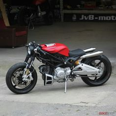 Ducati monster.  Freaky as can be ...... Purrrrrrfect