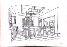 copy interior sketch Interior Sketch, Floor Plans, Diagram, Floor Plan Drawing, House Floor Plans