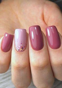 Nail Designs Spring, Simple Nail Designs, Nail Art Designs, Nails Design, Design Design, Design Trends, Classy Nails, Simple Nails, Spring Nails