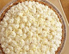Baileys Irish Cream Mousse Pie.  Since we're celebrating Pi Day on St Patrick's Day.