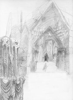 alan_lee_the lord of the rings_sketchbook_18_cirith ungol01_med.jpg (364×500)