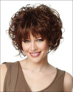 Sexy Stylish Short Curly Women Wigs