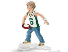 Schleich Boy With Frisbee