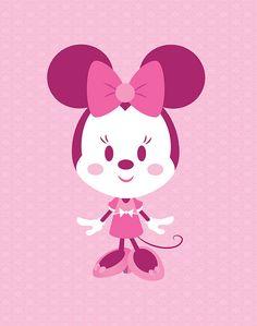 Minnie In Pink by Jerrod Maruyama, via Flickr