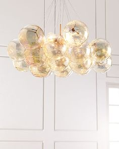 "Cielo 6-Light Pendant, 41""Dia. x 22""T with , $2,195"