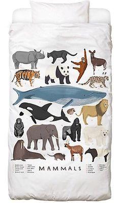 Mammals - Alex Foster - Kinderdekbedovertrekset