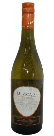 My absolute favorite wine!......olive garden castello del poggio moscato